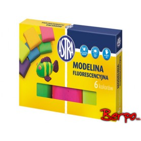 ASTRA modelina 6 kolorów fluorescencyjna 83911902