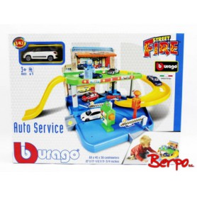 Bburago 300396 Street Fire Garaż Auto Serwis