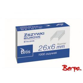 Tetis Zszywki biurowe 026122