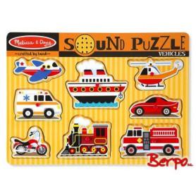 Melissa & Doug 10725 Puzzle Grający trasport