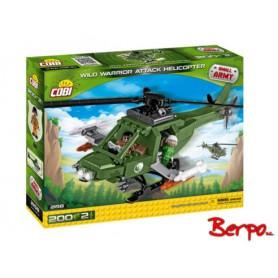 COBI 2158 Wild Warrior Attack Helicopter