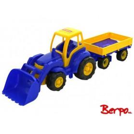 Polesie Traktor z łyżką i przyczepą mistrz 0520