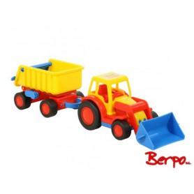 Polesie Traktor-ładowarka z przyczepą 37657