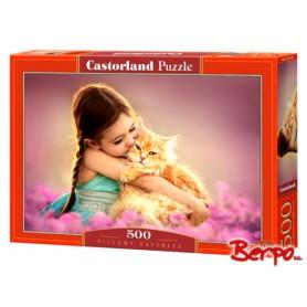 Castorland Dziewczynka z kotkiem 052370