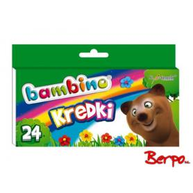 Majewski 000218 Kredki Bambino 24 kolory