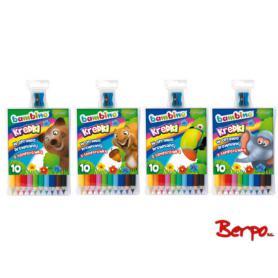 Majewski 000331 Kredki Bambino 10 kolorów