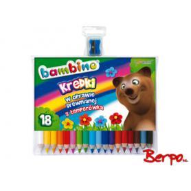 Majewski 000348 Kredki Bambino 18 kolorów