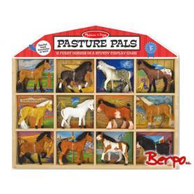 Melissa & Doug 10592 Zestaw domek z końmi