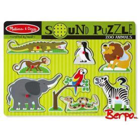 Melissa & Doug 10727 Puzzle Grające zwierzęta ZOO