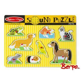 Melissa & Doug 10730 Puzzle Grające zwierzęta