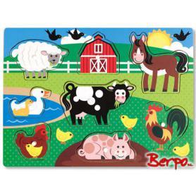 Melissa & Doug 19050 Puzzle farma