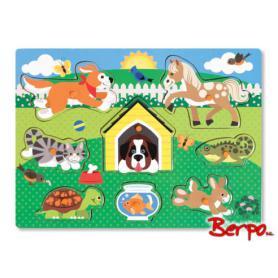 Melissa & Doug 19053 Puzzle zwierzęta