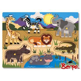 Melissa & Doug 19054 Puzzle Safari