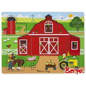 Melissa & Doug 42800 Puzzle Grająca farma