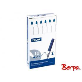 Milan marker do tablic cienki niebieski 009559