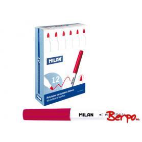 Milan marker do tablic cienki czerwony 009573