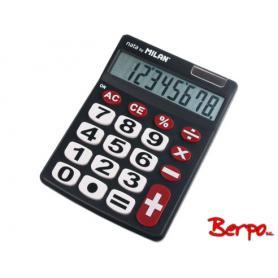 Milan Kalkulator duże klawisze czarny 151708BL