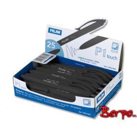 Milan długopis czarny P1 Touch 176511925