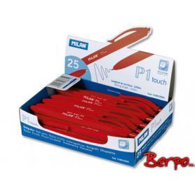 Milan długopis czerwony P1 Touch 176512925