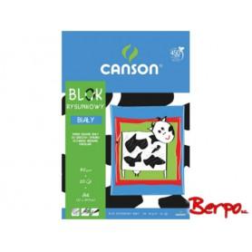Canson blok rysunkowy A4 biały 20k 190708