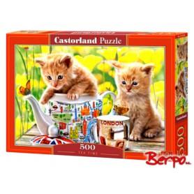 CASTOR Puzzle 500 el. kotki w filiżance 052356
