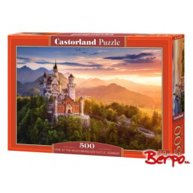 CASTOR Puzzle 500 el. Zamek Neuschwanstein 052752