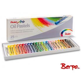 Pentel pastele olejne 25 kolorów PHN25