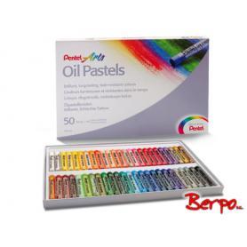 Pentel pastele olejne 50 kolorów PHN-50