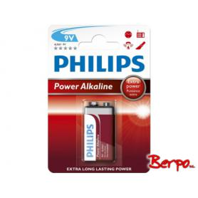 Philips Power Alkaline 9V 6LR61P1B/10