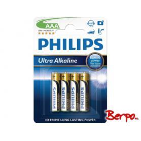 Philips Ultra Alkaline AAA LR03E4B/10