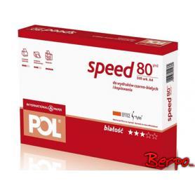 Polspeed papier ksero A4 80 g/m czerwony 012369